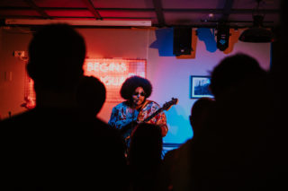 Dylan Cartlidge at Swn Festival by Nadine Ballantyne