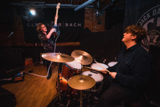 Alffa at Clwb Ifor Bach December 2019 by Nadine Ballantyne