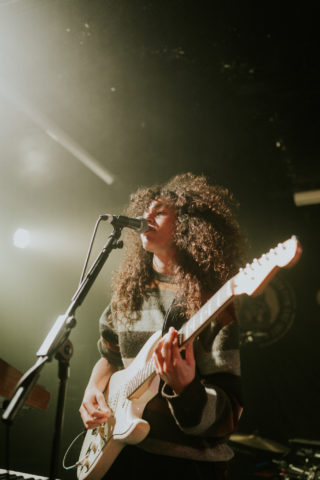 Muna at Clwb Ifor Bach December 2019 by Bethan Miller