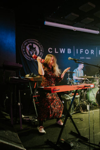 TJ Roberts at Clwb Ifor Bach December 2019 by Bethan Miller