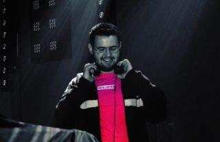 DJ Dabes DJing at LBTQ+ event