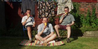 A photo of the band Hyll who will play Cardiff's Clwb Ifor Bach in August 2021